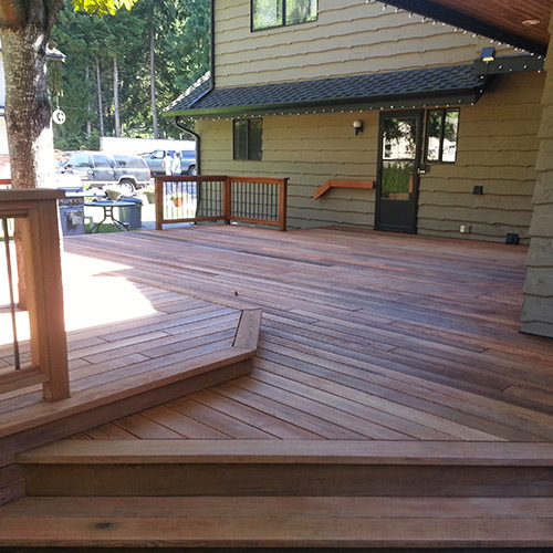 Residential Deck Finish